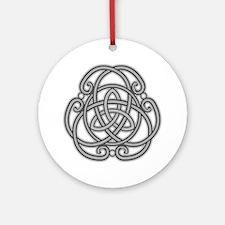 Knot Design Ornament (Round)