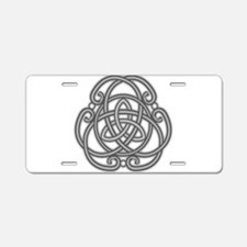 Knot Design Aluminum License Plate