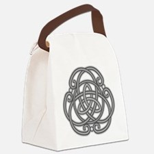 Knot Design Canvas Lunch Bag