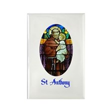 St Anthony Rectangle Magnet (10 pack)