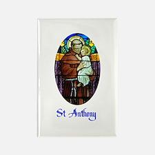 St Anthony Rectangle Magnet