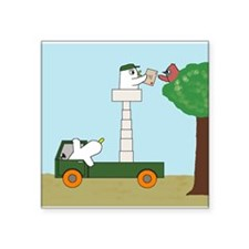 """Youve got mail! Square Sticker 3"""" x 3"""""""