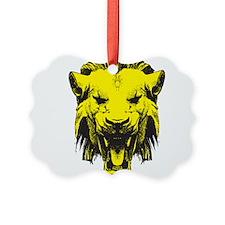 Lion Head Ornament