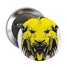 """Lion Head 2.25"""" Button (10 pack)"""