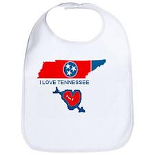 I love Tennessee Bib