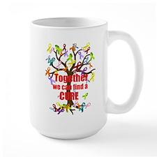 Together we can find a CURE Mug