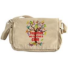 Together we can find a CURE Messenger Bag