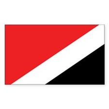 Sealand Flag Rectangle Decal