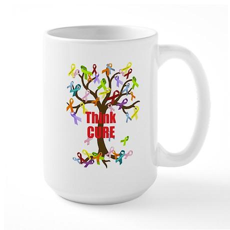 Think CURE Large Mug
