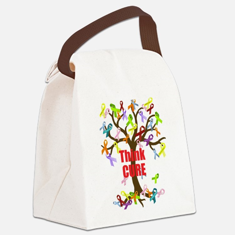 Think CURE Canvas Lunch Bag