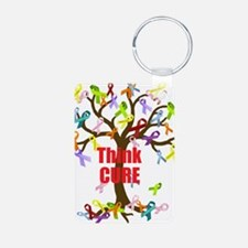 Think CURE Keychains