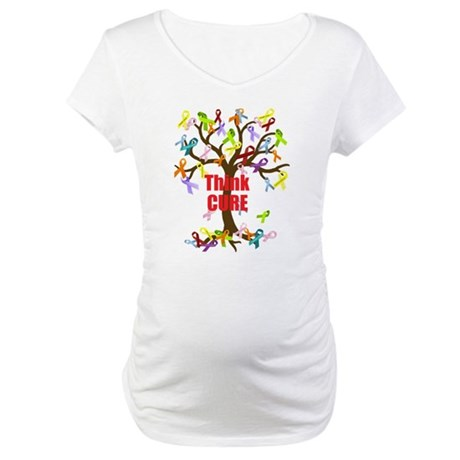 Think CURE Maternity T-Shirt