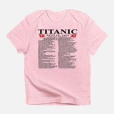 Titanic Ship Statistics Infant T-Shirt