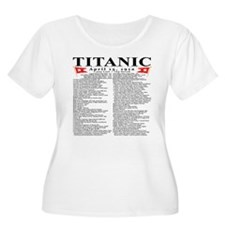 Titanic Ship Statistics T-Shirt