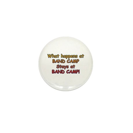 What Happens At Band Camp... Mini Button (10 pack)