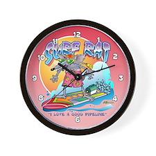 Surf Rat Wall Clock