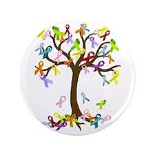 """Ribbon Tree 3.5"""" Button"""