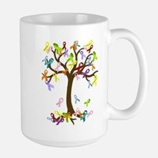 Ribbon Tree Large Mug