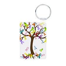 Ribbon Tree Keychains