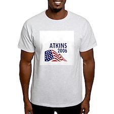 Atkins 06 Ash Grey T-Shirt