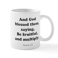 Genesis 1:22 Mug