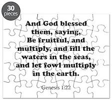 Genesis 1:22 Puzzle