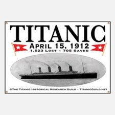 Titanic Ghost Ship (white) Banner
