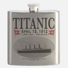 Titanic Ghost Ship (white) Flask