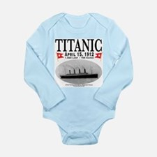 Titanic Ghost Ship (white) Long Sleeve Infant Body
