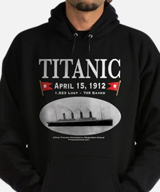 Titanic Ghost Ship (white) Hoodie (dark)