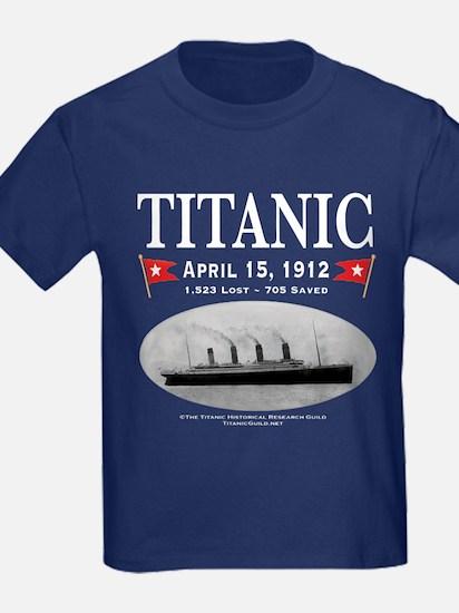 Titanic Ghost Ship (white) T