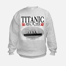 Titanic Ghost Ship (white) Sweatshirt