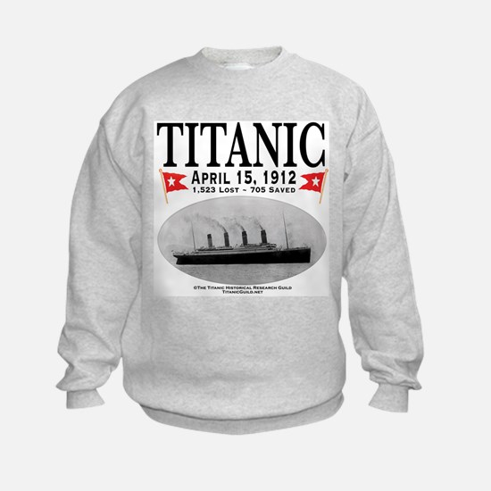 Titanic Ghost Ship (white) Sweatshirt