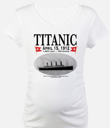 Titanic Ghost Ship (white) Shirt