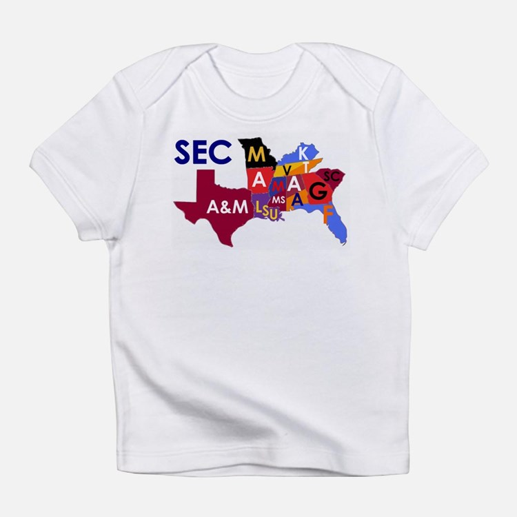 SEC Football Infant T-Shirt