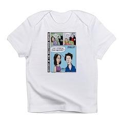 Halloween Evolution of the Vampire Infant T-Shirt
