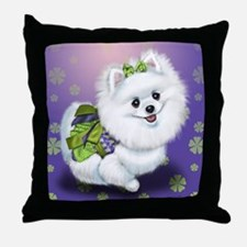 Sophia Pomeranian Mega Star Throw Pillow