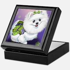 Sophia Pomeranian Mega Star Keepsake Box