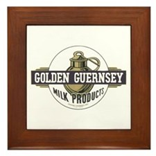 Golden Guernsey Framed Tile