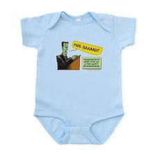 Halloween Daddys Home Frankenstein Infant Bodysuit