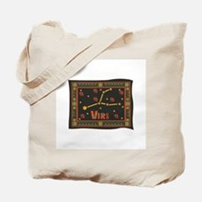 Virgo Constellation Tapestry Design Tote Bag