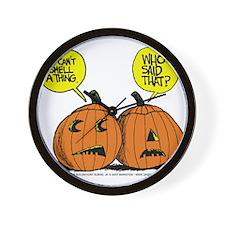 Halloween Daddys Home Pumpkins Wall Clock