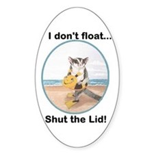 I dont float Decal