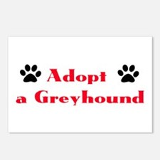 Adopt a Greyhound Postcards (Package of 8)