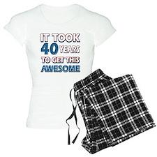 40 Year Old birthday gift ideas pajamas