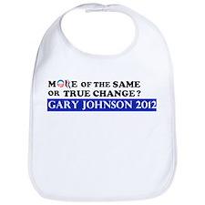 Gary Johnson 2012 - Change Bib