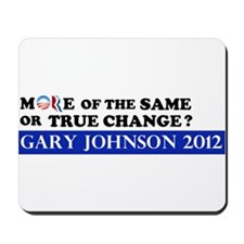 Gary Johnson 2012 - Change Mousepad