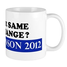 Gary Johnson 2012 - Change Mug