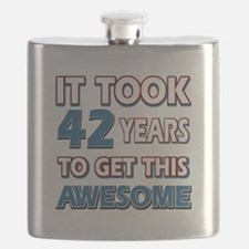 42 Year Old birthday gift ideas Flask