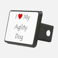 I Love My Agility Dog Hitch Cover
